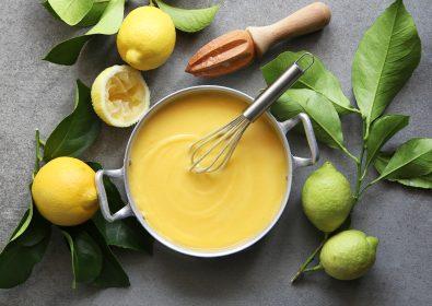 Lemon Pudding With Amstel Radler