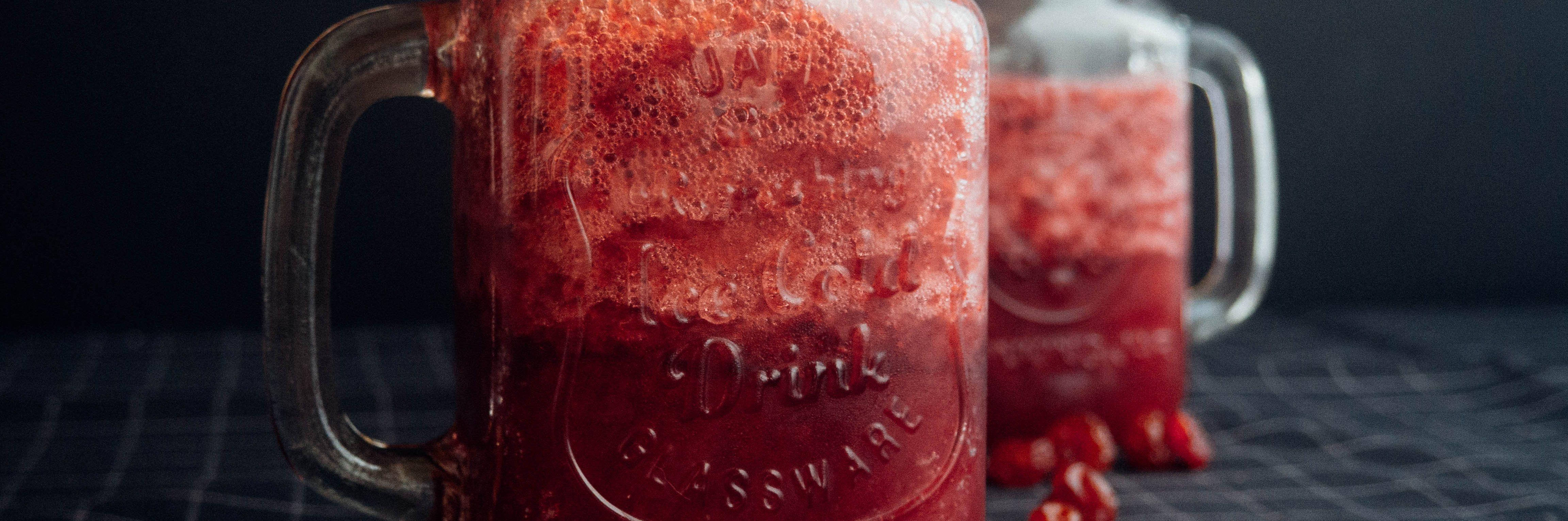 Cranberry Peach Cooler