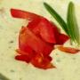 حساء الزبادي والشعير مع أمستل رادلر