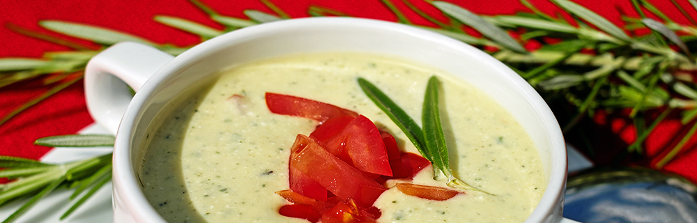 Yoghurt and Barley Soup with Amstel Radler