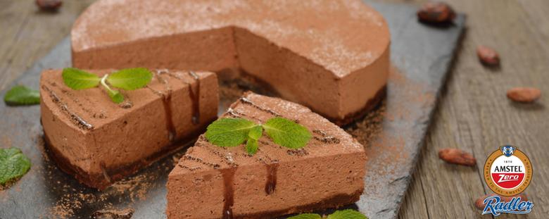 Amstel Zero Radler Chocolate Cheesecake