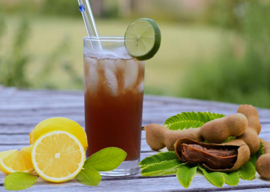 Fayrouz Apple with Tamr-Hindi lemonade Mocktail