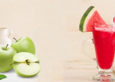 فيروز البطيخ و التفاح بالليمون