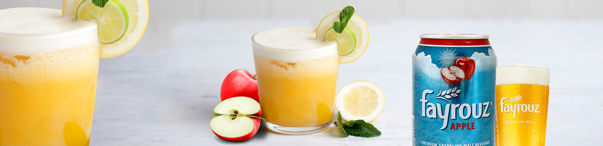 Fayrouz  Apple Cider Mocktail