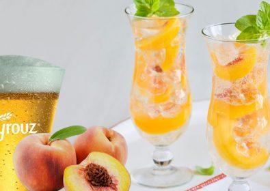Frozen Peach Mocktail