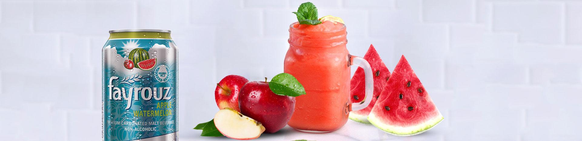 Watermelon & Apple Fizz