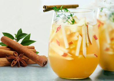 Watermelon & Apple Autumn Mocktail