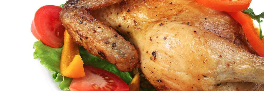 الدجاج المشوي بفيروز أناناس