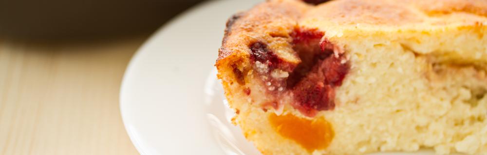 كعكة الزبيب بفيروز تفاح