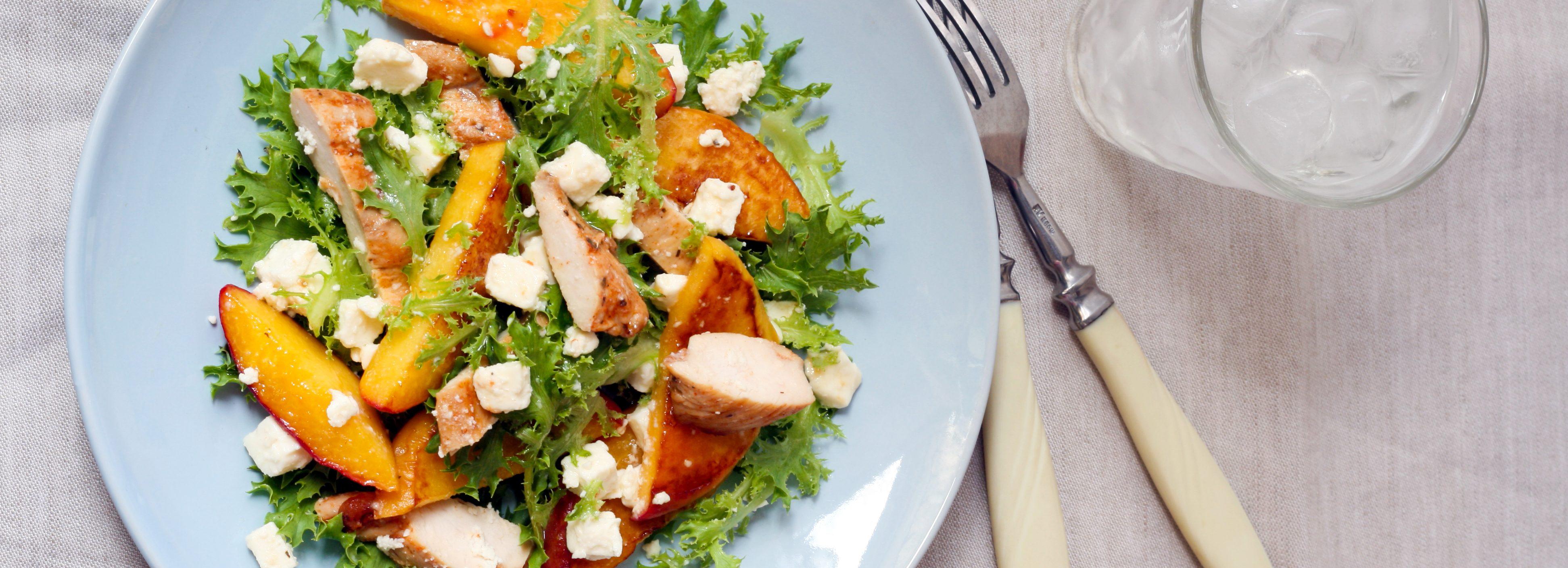 Peachy Chicken Salad With Fayrouz Peach