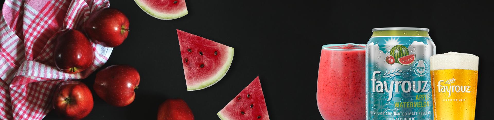 فيروز البطيخ و التفاح سموزي