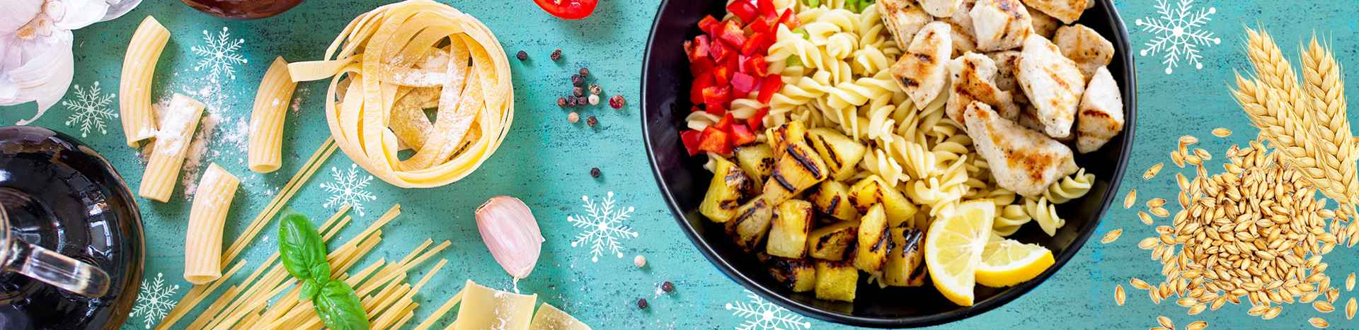 Hawaiian Pasta with Chicken and Pineapple